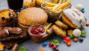 Image result for Sugars and junk food